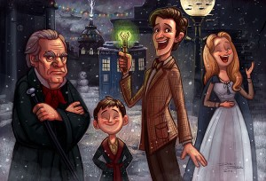 doctor_who_christmas_carol_by_danidraws-d4if2ti
